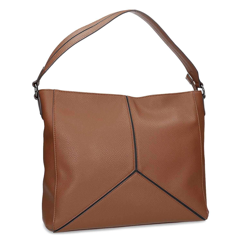 Hnědá dámská kabelka v Hobo stylu