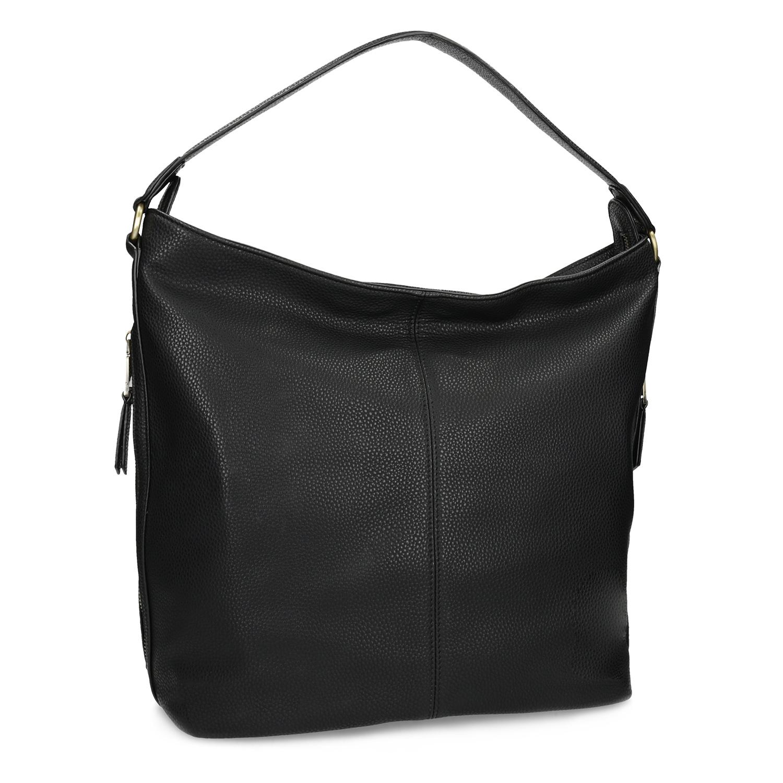 Černá dámská kabelka v Hobo stylu