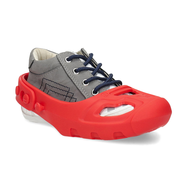 Návleky proti okopániu obuvi červené