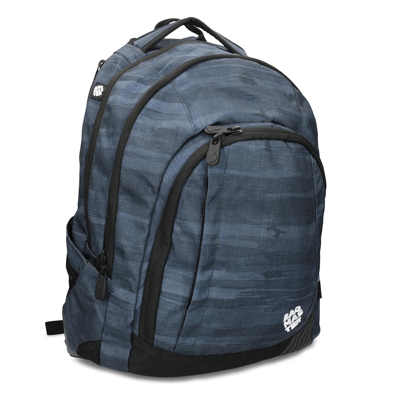 Tmavošedý školský batoh