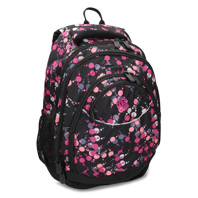 Školský batoh s bodkami
