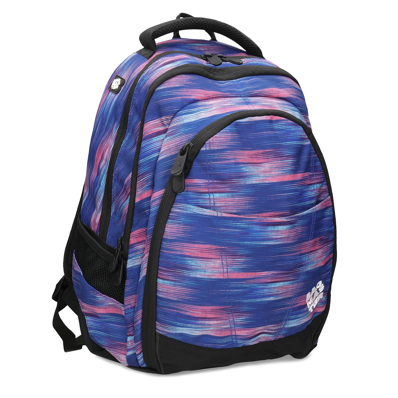 Školský modro-ružový batoh