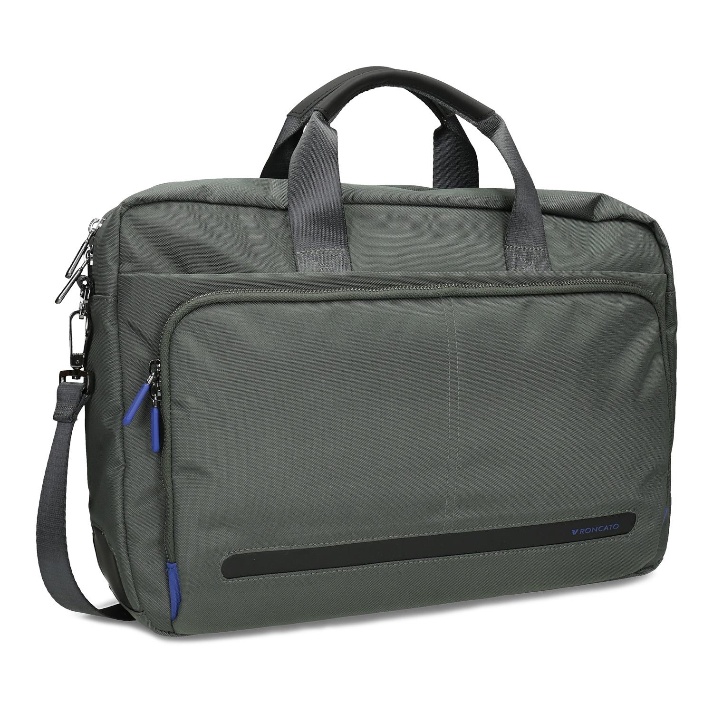 Šedá pracovní taška na notebook