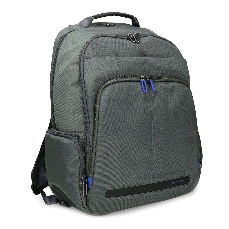 a077d622ff Šedý batoh s vreckom na notebook