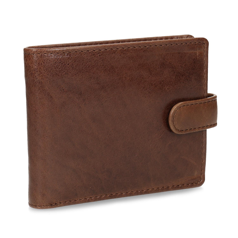 Pánska kožená hnedá peňaženka