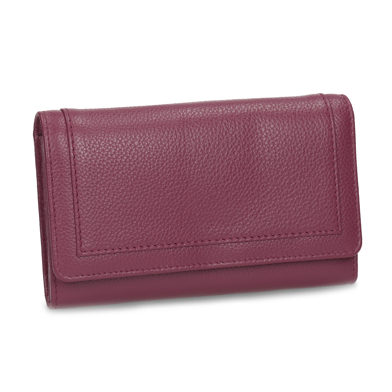 Dámska kožená vínová peňaženka