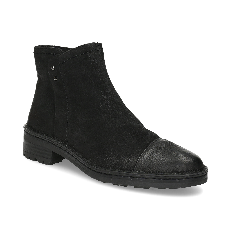 Dámska kožená členková obuv