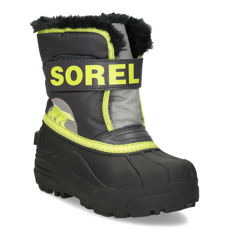 Dětské sněhule s kožíškem a neonovými detaily Bata.cz