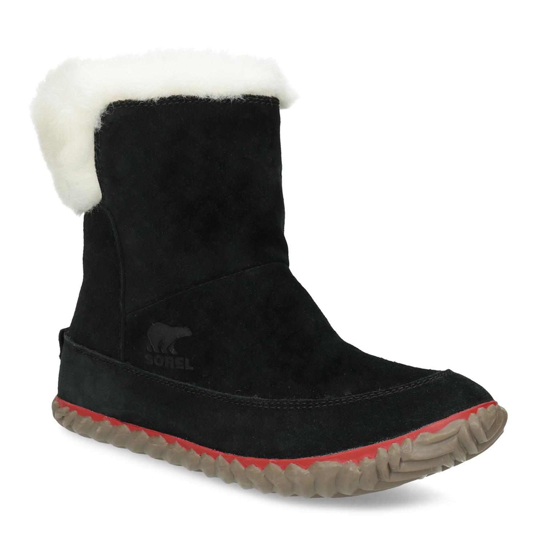 a3fdef6c36c Kožená dámská zimní obuv se zateplením