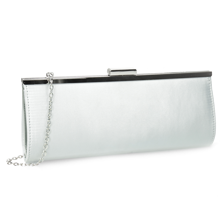 Elegantná dámska listová kabelka s retiazkou