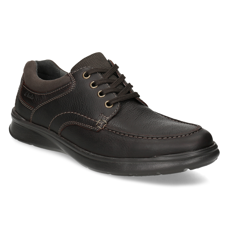 Pánské kožené boty s prošitím