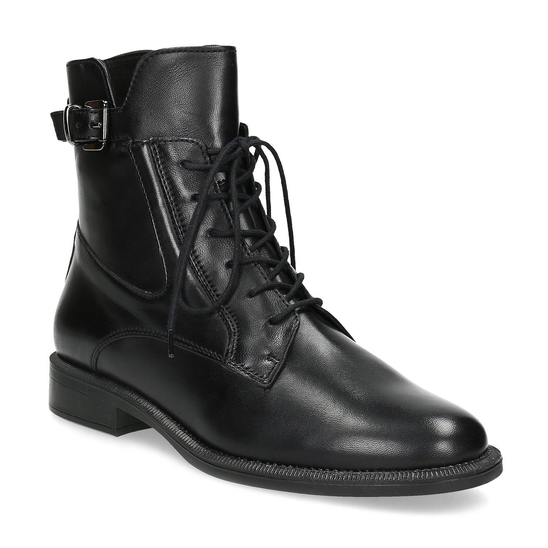 Zimná členková obuv s prackou