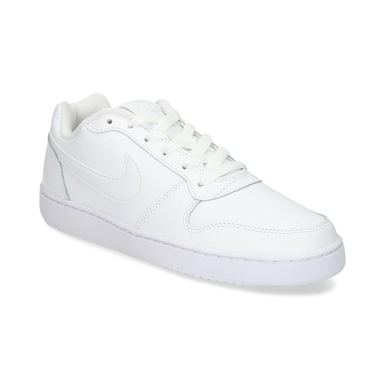 Bílé dámské tenisky s prošitím