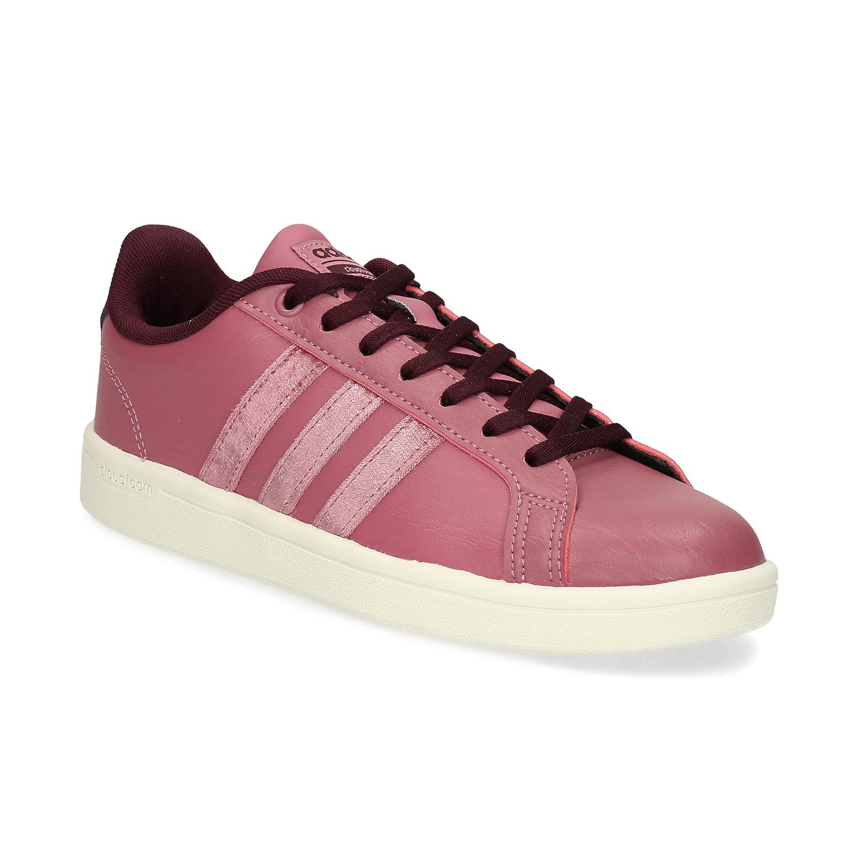 Ružové dámske ležérne tenisky