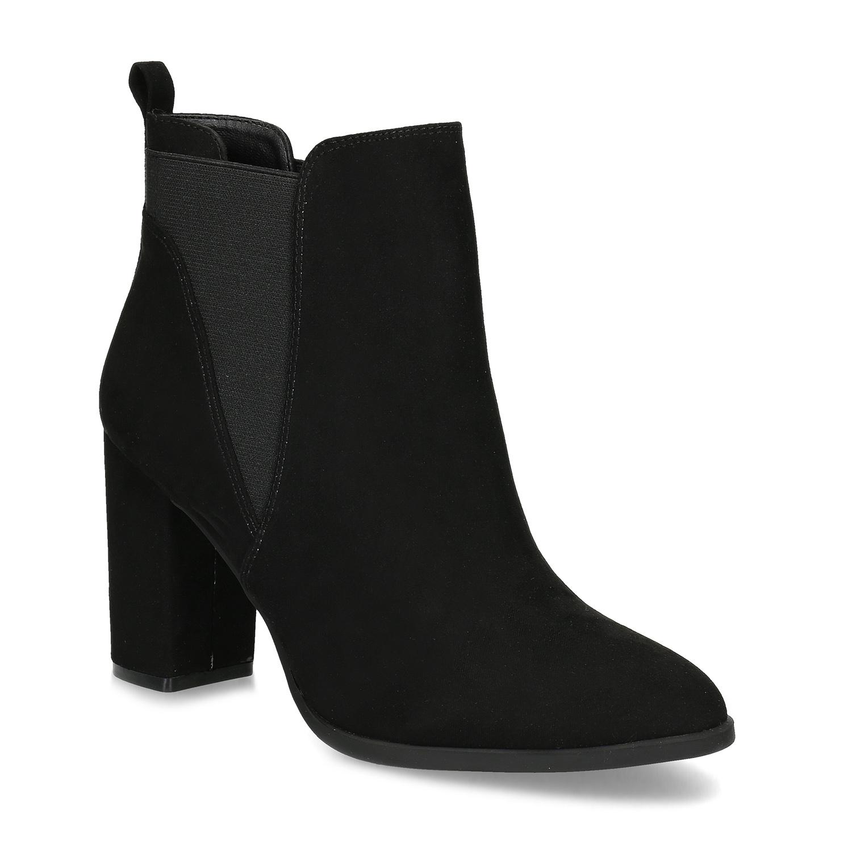 Kotníčková dámská obuv v Chelsea stylu