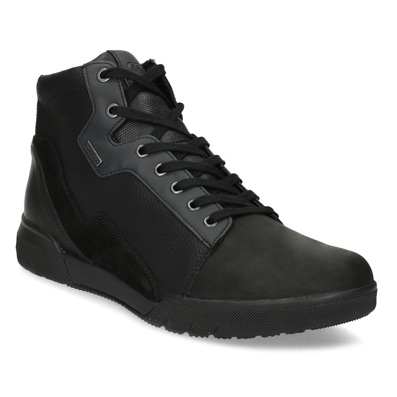 Pánska čierna členková obuv