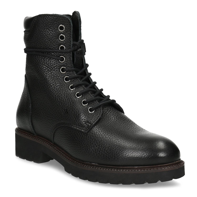 Cerna kotnickova obuv damska levně  ba87344176