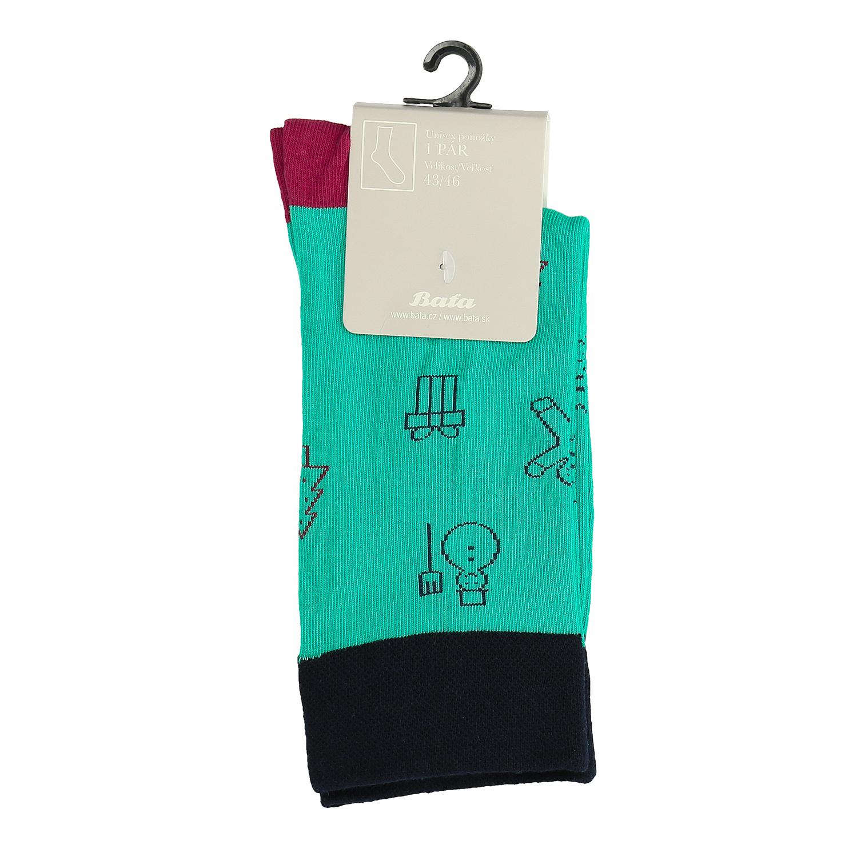Unisex ponožky s vánočními motivy