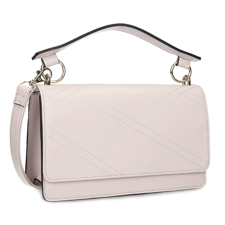 Světle růžová dámská kabelka