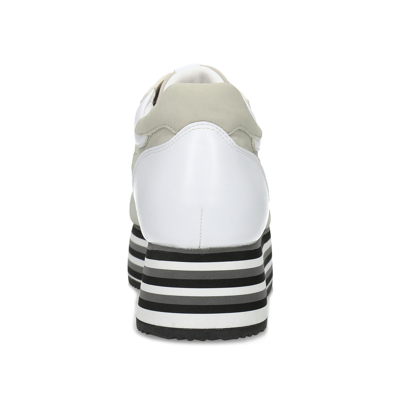 Dámské tenisky na flatformě šedé
