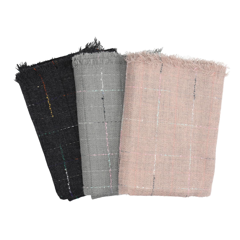 Dámský šátek s jemnou kostičkou