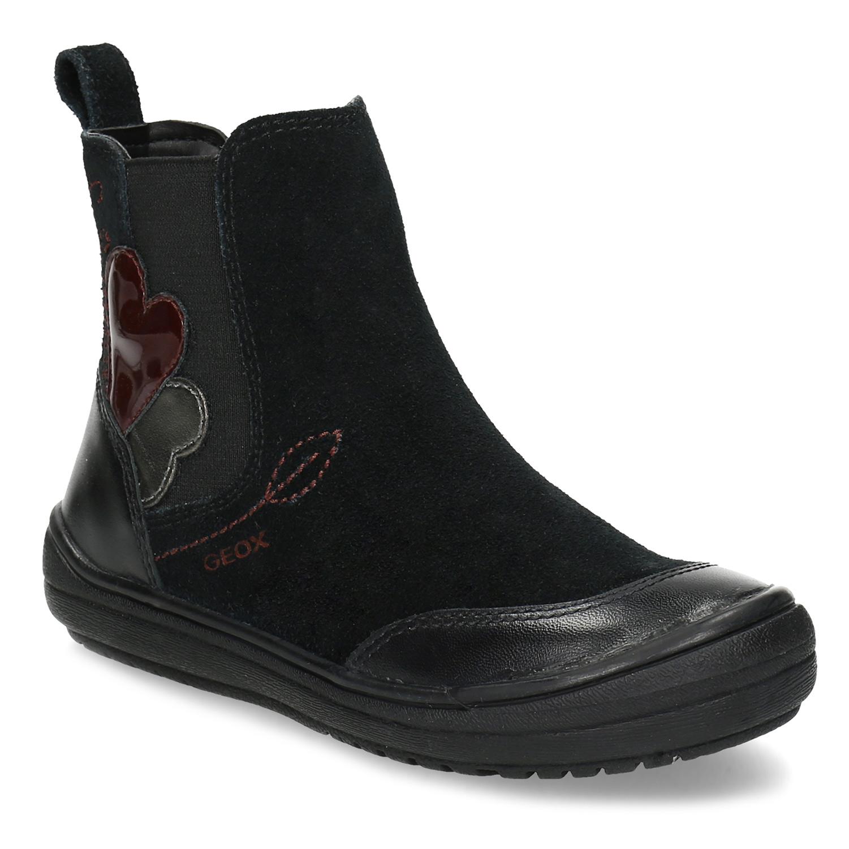 Černá dětská kotníčková obuv v Chelsea stylu Bata.cz