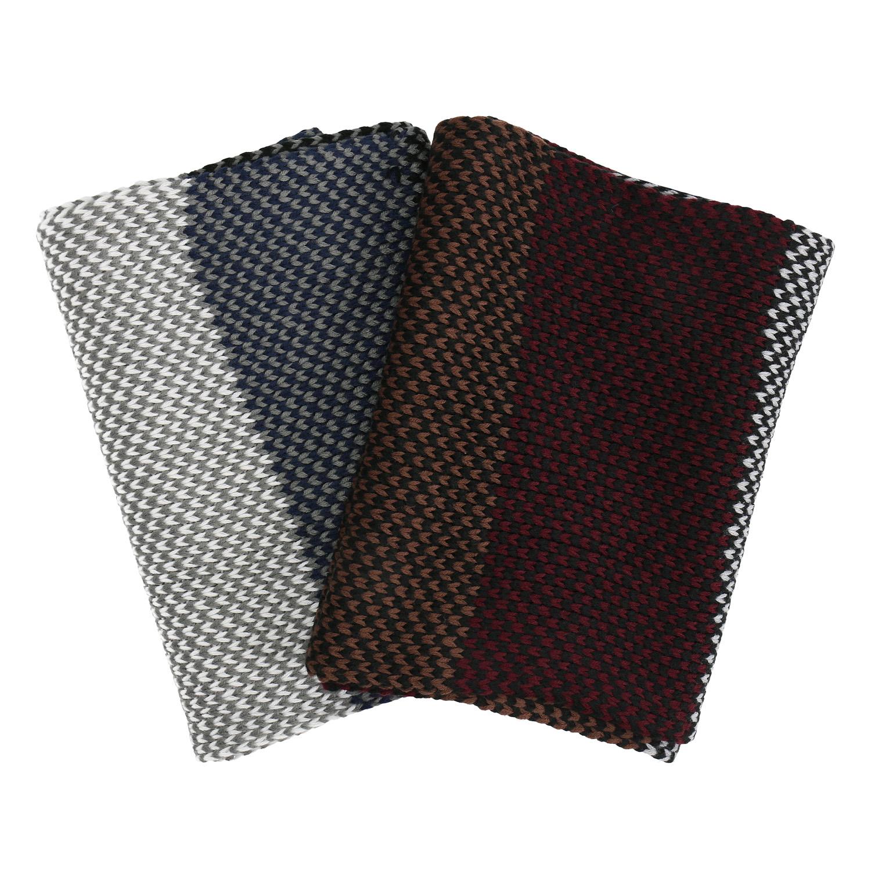 Pánská pletená pruhovaná šála