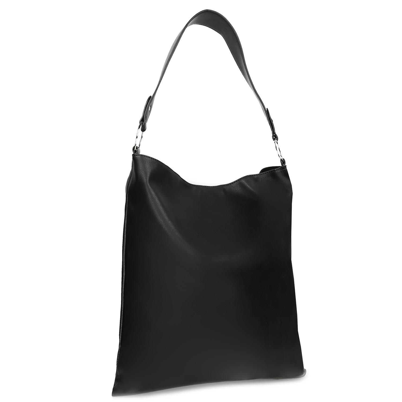Čierná dámská Hobo kabelka