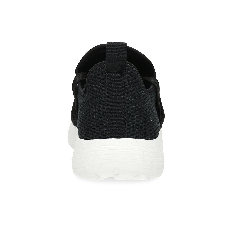Dámské černé tenisky s elastickým pruhem
