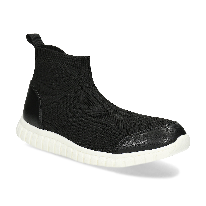 Kotníčková dámská černá obuv