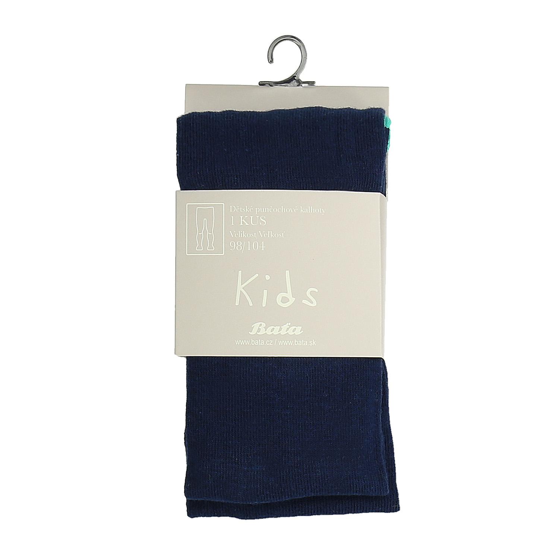 Tmavomodré detské pančuchové nohavice