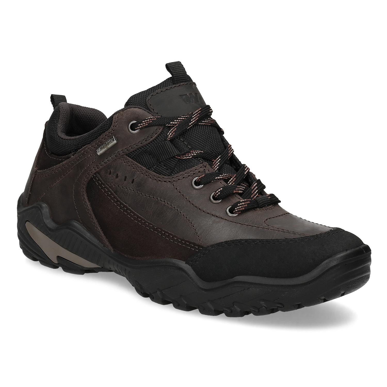 Kožená pánská obuv v Outdoor stylu