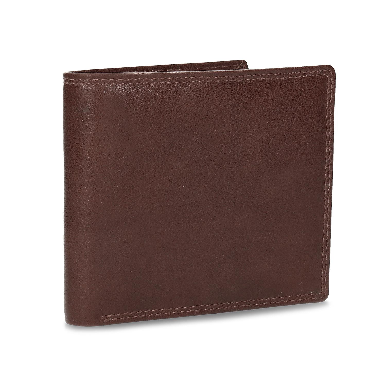Kožená hnedá peňaženka