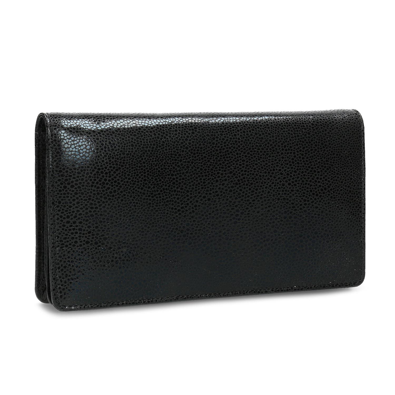Kožená čierna peňaženka lesklá