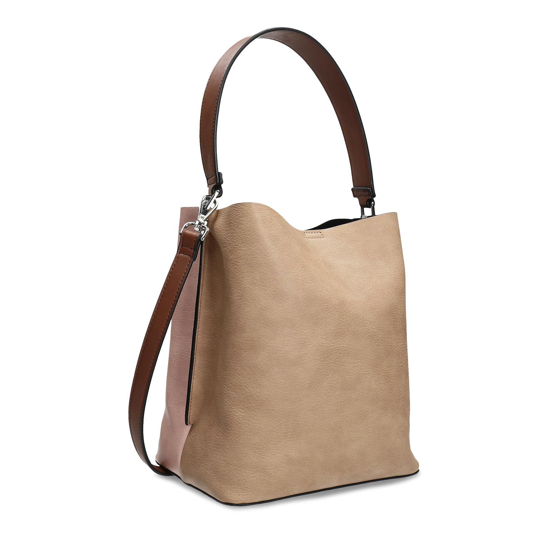 Dámska dvojfarebná kabelka