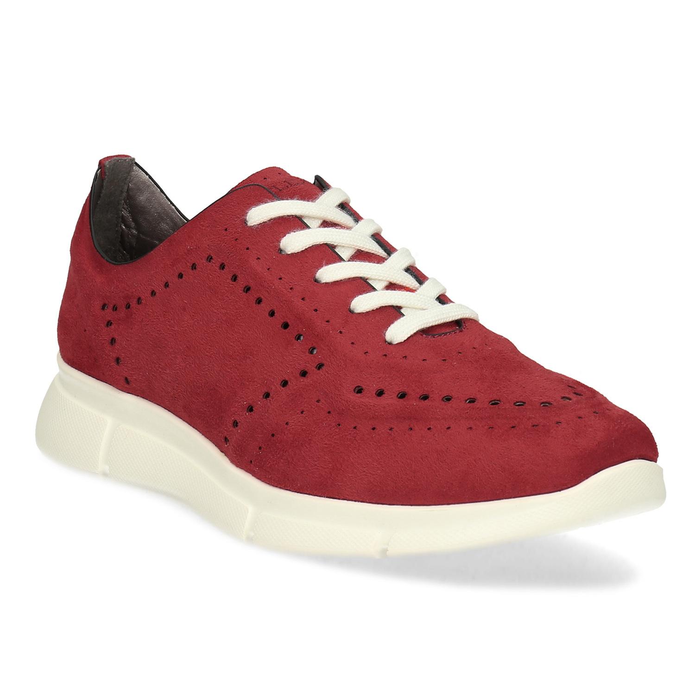 Červené dámske tenisky