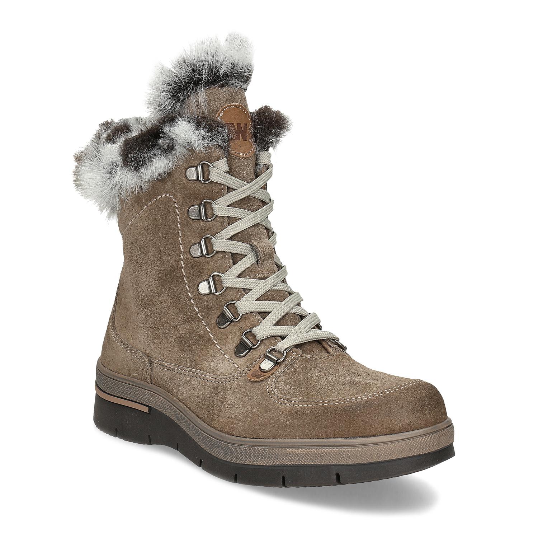 Dámske členkové topánky zimné