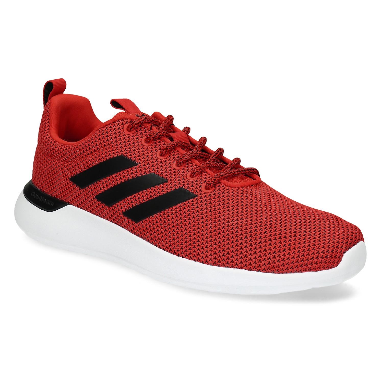 Pánske červené tenisky s čiernymi detailmi