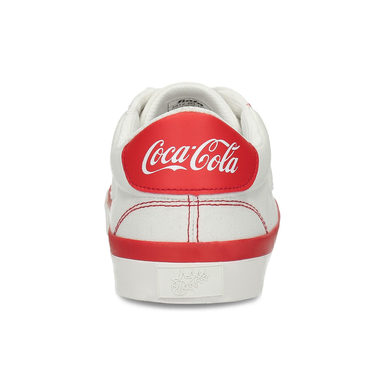 Dámské Coca-Cola tenisky s prošitím