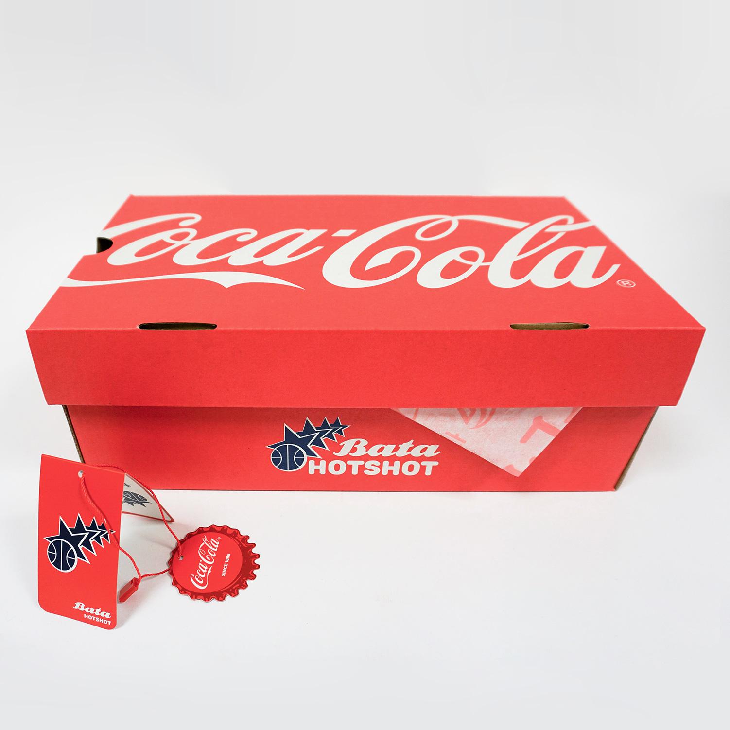 Dámské tenisky s Coca-Cola potiskem