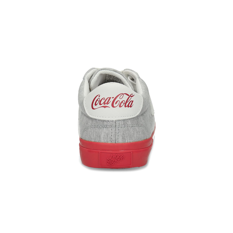 Šedé dámské Coca-Cola tenisky