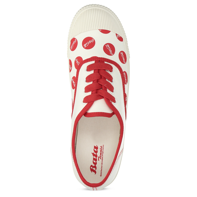 Pánské tenisky s červeným Coca-Cola potiskem