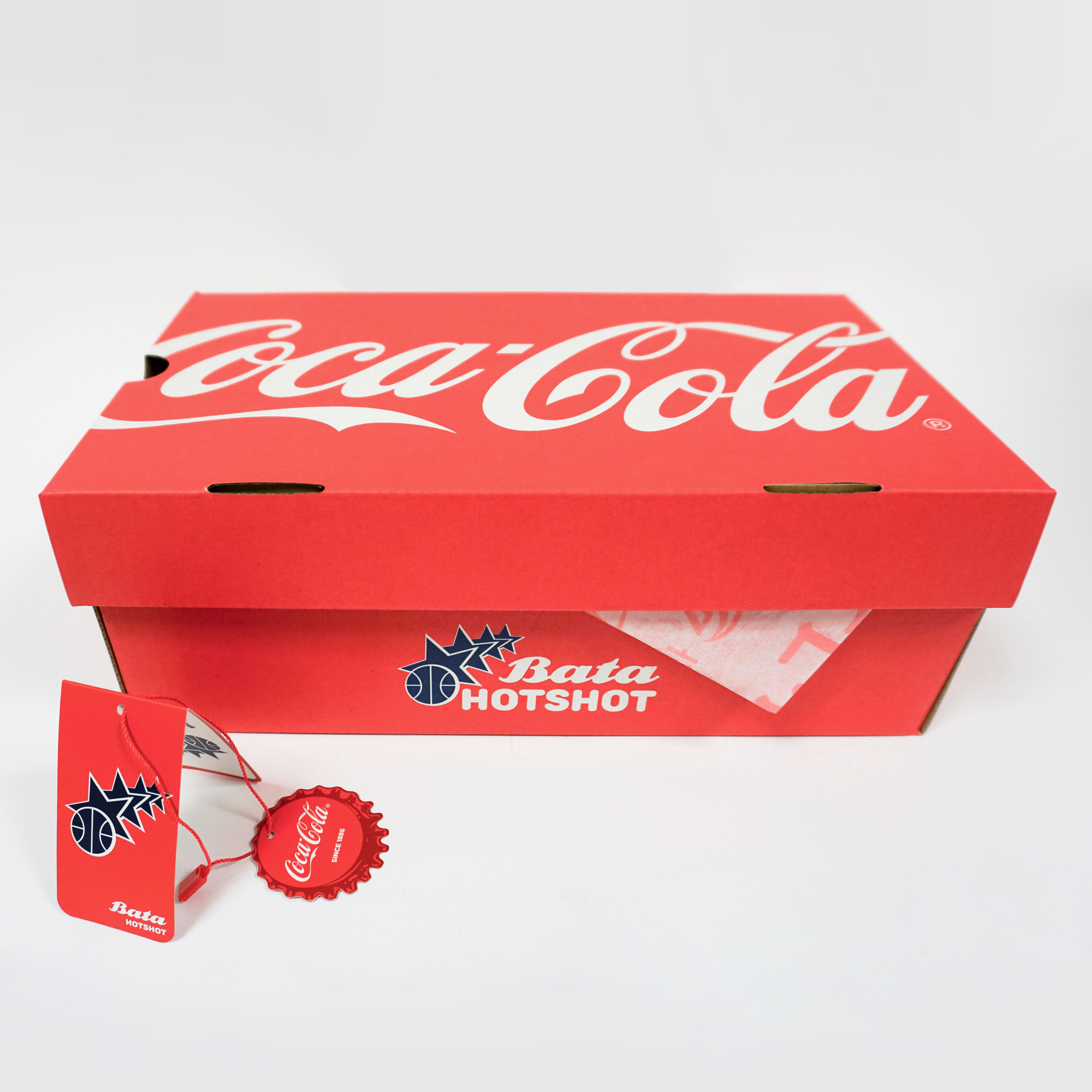 Pánské Coca-Cola tenisky s červenými detaily