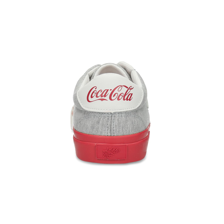 Šedé pánské Coca-Cola tenisky