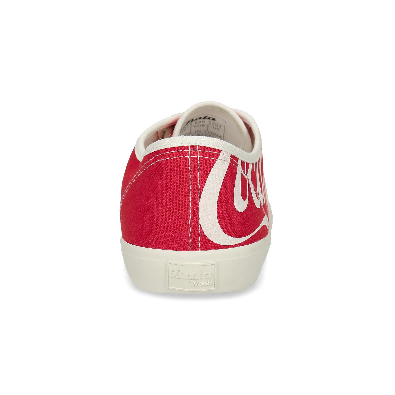 Pánské červené Coca-Cola tenisky