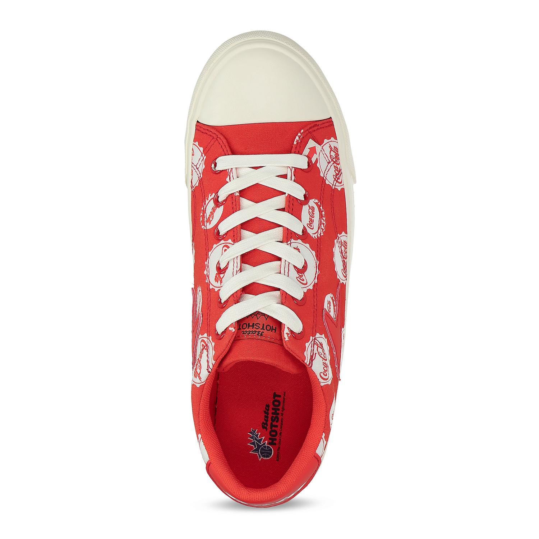 Červené pánské Coca-Cola tenisky s potiskem