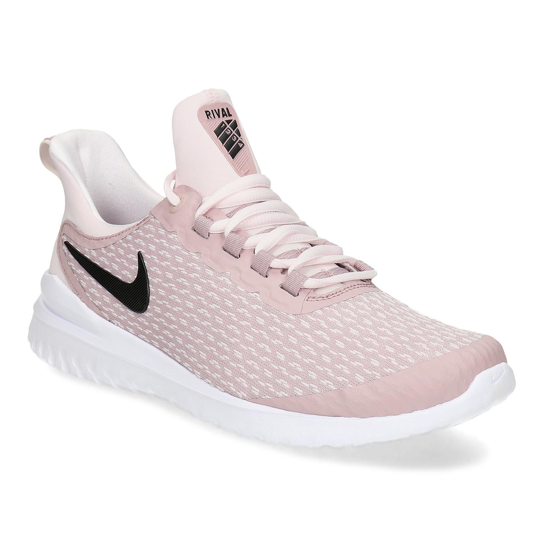 Ružové dámske tenisky s vykrojením