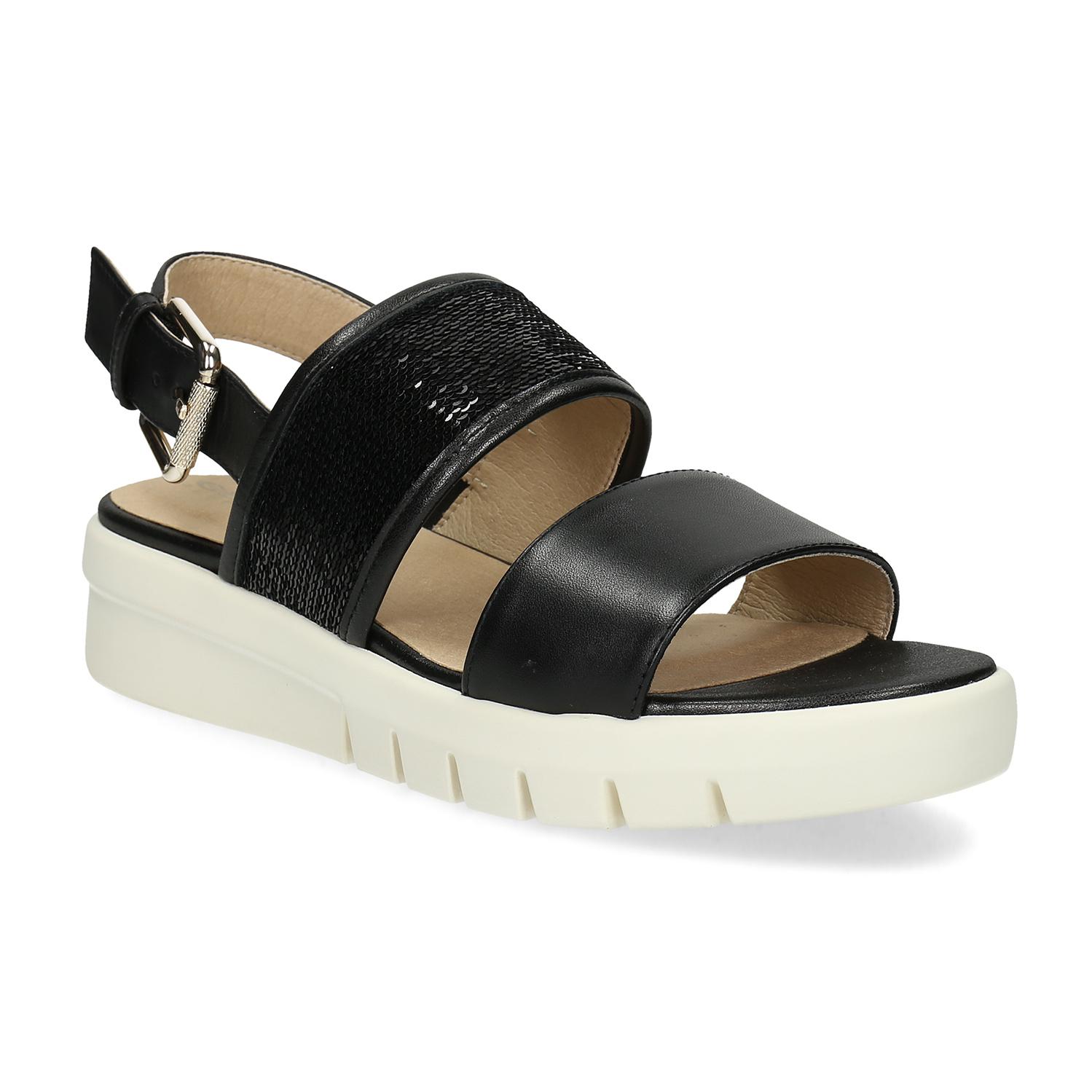 Dámske sandále čierne