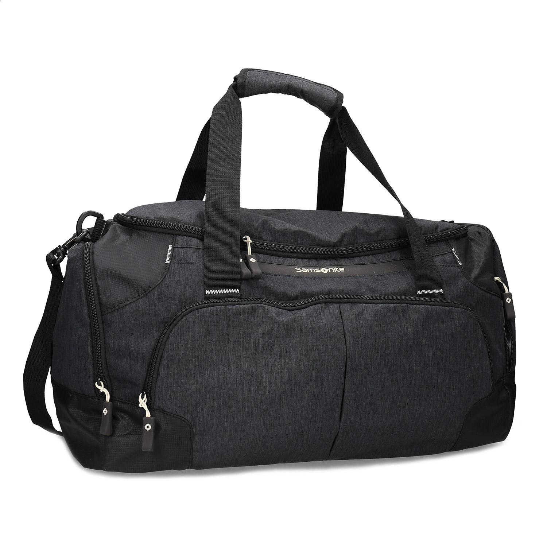Kvalitná čierna cestovná taška