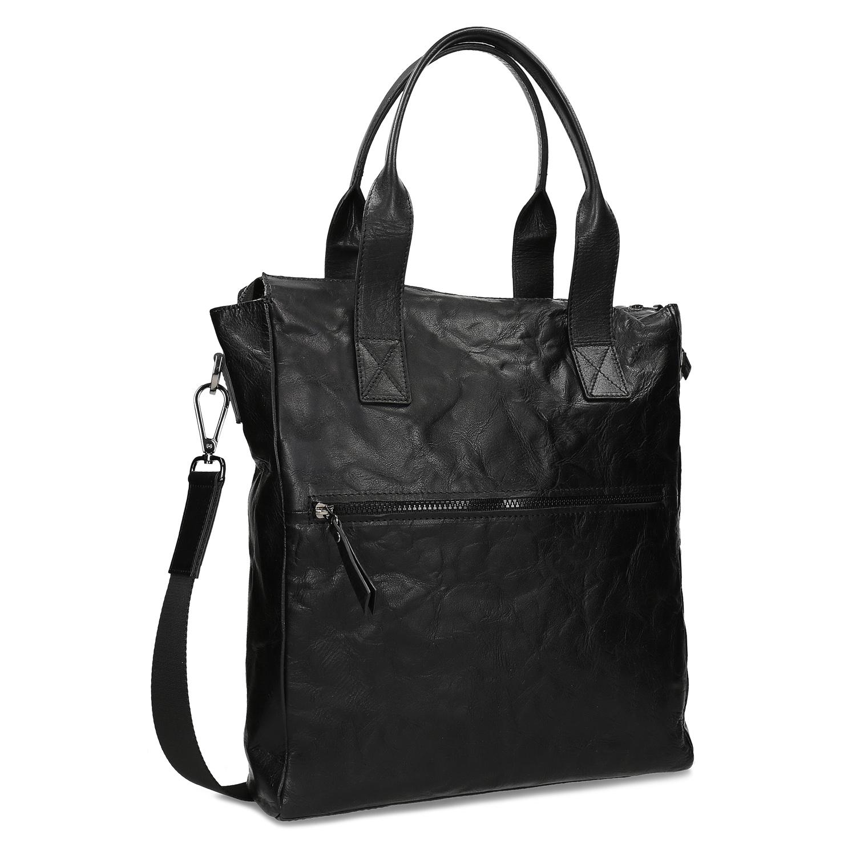 Pánska kožená taška s popruhom